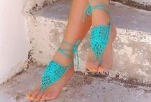 jalkakorut, baeefoot sandals