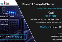 Reprised Dedicated Server Offer !!! / #US/Europe best-dedicated servers #PerfectServer L - Xeon 3.0 dedicated servers #HPE DL120 G7 #Intel-Xeon E3-1270 [1x Quad-Core] CPU's #RAM8 GB DDR3-RAM ECC #Port1 Gbit/s  Buy Now!!  ============================================== USE COUPON CODE: HPS10OFF Offer ends:31st May 2017 ============================================== Contact Us: Visit:server9host Email: sales@server9host.com or feel free to ping us  SKYPE: server9host ===========================================