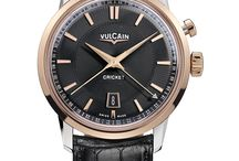 Vulcain Watches / The Vulcain watch manufacturer was founded in 1858 and is the inventor of the alarm complication for wristwatches.