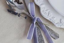 ** MARIAGE LAVENDE ** / #lavende #violet #parme #mariage