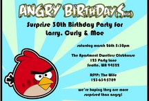 Angry Birds Party / by Maggie Muggins