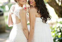 Lesbian wedding inspiration