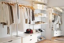 open wardrobe bedroom