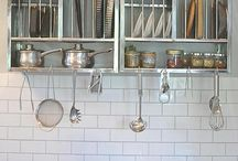 The Plate Rack + Warehouse Home / Warehouse Home loves how The Plate Rack provides storage solutions that are practical and unusual. They are the perfect stainless steel kitchen accessories.