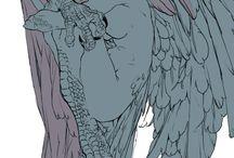 ハーピー/天使