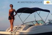 "Member Photos / A compilation of our members enjoying the ""Carefree Life!"" Want to see yourself in this album? Snap a picture next time you're out on the water or at the dock, then share it with us on our Facebook,Twitter, Instagram or Pinterest by tagging us and using #CarefreeBoatClub!"