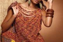 Crochet tops, dresses, skirts