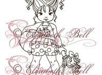 sweet stamps of Elisabeth Bell
