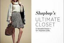 Ultimate closet shopbop