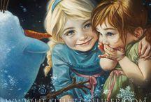 Disney Anna y Elsa