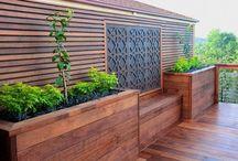 outdoor deck entertaining bar pergolas