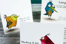 crazy birds / by sue Bowen