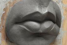 Bouche sculpture