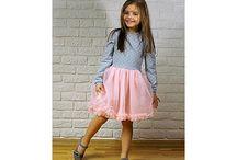 sukienki dzieciece / sukienki dla dziewczynek kids fashion