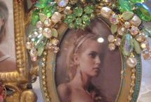 Jewelled frames and mirrors