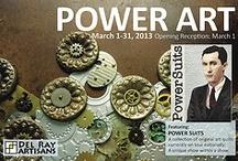 Power Art. March 1 - 31, 2013 / Art Exhibit