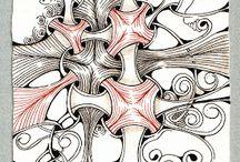 Zentangle Patterns / Zentangle ideas