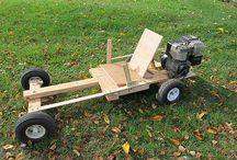 Kids motorised go kart