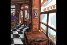 Mariscal Travels Sketch / Viajar, conocer, observar el mundo y lo que te rodea. Sentir, oler, percibir, dejarse fascinar. Argentina, Tokio, Barcelona, París...