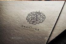 Luxury brand logos
