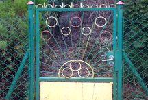 fences / metal fences, gate