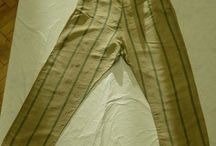 Men, Trousers, fall front with suspender buttons, 1820 - 1880