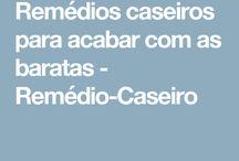 REMÉDIO CASEIRO