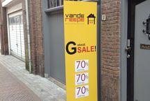 Garage Sale / HET adres voor de leukste en GOEDKOOPSTE damesschoenen, dameslaarzen en herenschoenen in Zeeland!