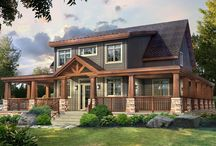 Craftsman Series - Timber Block Engineered Wood Homes / Timber Block Engineered Wood Homes has created a brand new collection of homes. The Craftsman Series is Timber Block's newest series. www.timberblock.com