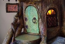 I'm making my fairies a home,,,xx / Little home,,xx