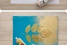 Diy τέχνη για τοίχους