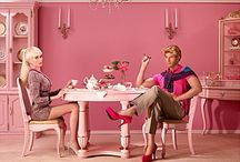 Barbie at home with Ken