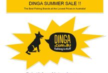 """Dinga Summer Sale is Now On!! / Dinga takes you through the online shopping journey, offering a wide range of fishing tackle products including all types of Reels with great deals in this """"Summer Sale""""."""