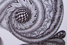 zentangel / doodles