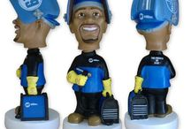 MILLER ELECTRIC WELDER BOBBLEHEAD COLLECTION / The 6th edition in the collection of Miller Bobbleheads.