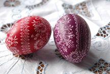 Magyar tojás csodák - Hungarian easter eggs / Festett húsvéti tojás Painted easter eggs