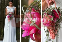 Wedding bouquets by Paragon Floral Design / Wedding Bouquets, and Buttonholes