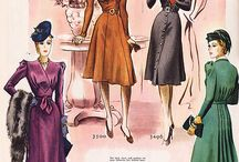 Vintage fashion / by Itsy Bitsy Vintage