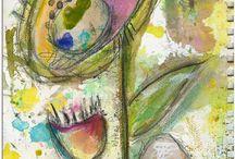 Art Journals & Mixed Media