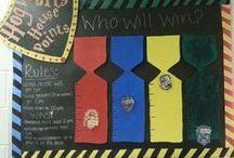 Harry Potter classroom design
