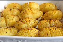 Pommes de terre rôties au four pour apéro