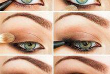 Ojos en tonos marrones