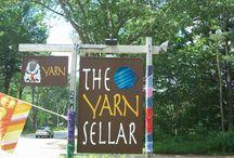 Yarn Bombing / Yarn graffiti