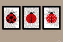 Ladybugs - art