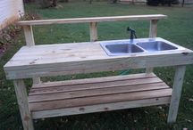 outdoor sink kitchen