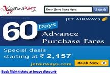 Jet Airways Coupons