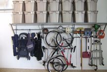 HOME:  Garage & Attic Spaces / Garage and attic organization / by Jenny @ jennycollier.com