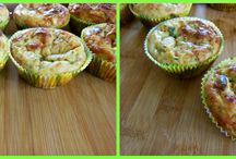 Amelie makes Salty muffins / Salty baking