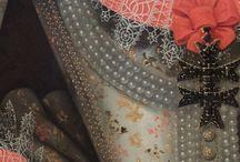 merletti dipinti