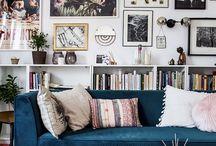 Mur de canapé